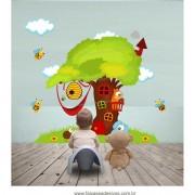 Arvore Adesivo Decorativo Abelhas - Escolha o tamanho - R087