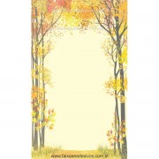 Adesivo decorativo Caminho de Outono - R090