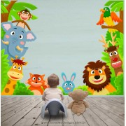 Adesivo Decorativo Safari -Escolha o Tamanho - R092