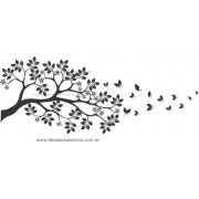 Adesivo Galho ao Vento - Escolha o Tamanho - R094
