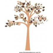 Arvore Adesivo Decorativo Intelectual - Escolha Tamanho - R096