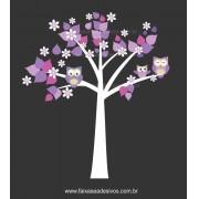 Arvore Adesivo Decorativo Cuida do Sono - Escolha Tamanho - R085
