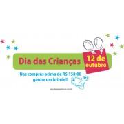 Adesivo Dia das Crianças - Escolha o Tamanho - C201