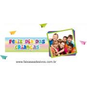 Adesivo Dia das Crianças Amigos - Escolha o Tamanho - C203