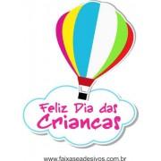 Adesivo Dia das Crianças Balão - Escolha o Tamanho - C204