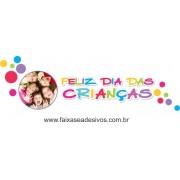 Adesivo Dia das Crianças Amizade  - Escolha o Tamanho - C205