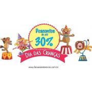 Circo adesivo para dia das crianças - D307