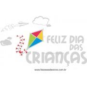 Adesivo de Vitrine - Dia das Crianças Pipa - D310