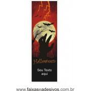 Halloween Lona Decorativa 70x210cm - com dupla face para fixação