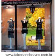 Lona Outono Inverno para painel decorativo de parede - P2215