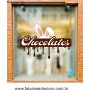 AP402 - Adesivo para Páscoa Chocolate Derretido