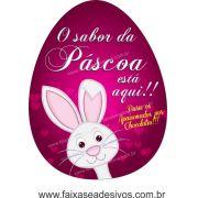 AP405 - Adesivo para Páscoa - Amor por chocolate