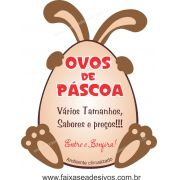 AP406 - Adesivo para Pascoa - Ovos de Páscoa