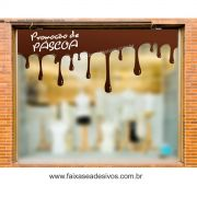 AP414 - Adesivo de Páscoa - Chocolate derretido - o metro