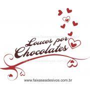 AP418 - Adesivo Decorativo de Páscoa - Loucos Por Chocolate