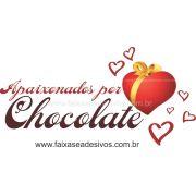 AP420 - Adesivo Decorativo Apaixonados por Chocolate