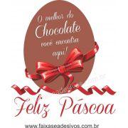 AP427 - Adesivo para Páscoa - ovos de Chocolate