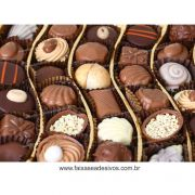 AP433 - Adesivo Decorativo FOTOS de Chocolate