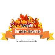 A612 - Adesivo Outono Inverno - Flamula