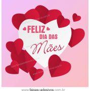A501M - Adesivo Dia das Mães - Dobradura