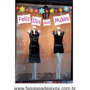 A527M - Adesivo Dia das Mães - Varal Florido