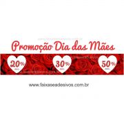 A530M - Adesivo Dia das Mães - Promoção