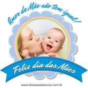 A547M - Adesivo Dia das Mães - Flamula com foto