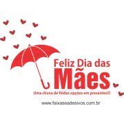 A551M - Adesivo Dia das Mães - Guarda Chuva