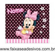 Minnie painel aniversário 1,00 x 0,80cm