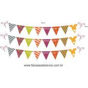A723 - Dia das Crianças - Cartela de bandeirinhas