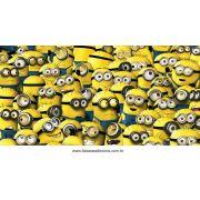 Painel de Aniversário 126 Minions 1,00x2,00m B