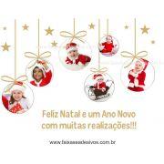 1230 - Adesivo de Natal Criança Feliz 120x90cm