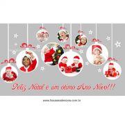 1231 - Adesivo de Natal Criança Feliz 2 - 85x150cm