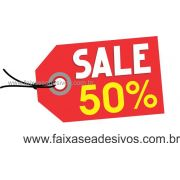 A493 - Tag - Adesivo de vitrine - Sale
