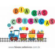 ADC693- Adesivo Dia das crianças Trenzinho 3