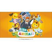 Painel de Aniversário 214 - Bita e os animais