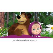 Painel de Aniversário 216 - Masha e o Urso 2