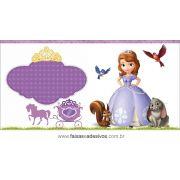 Painel de Aniversário 228 - Princesinha Sofia 5
