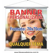 016B - Banner 70x70cm
