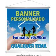 Banner 90x90cm