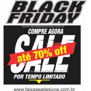 109A - Black Friday Adesivo