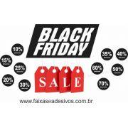 105A- Black Friday - Adesivo Sale