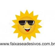 Sol com óculos 30x30cm