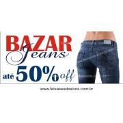 Bazar Jeans Faixa em Lona 85x200cm