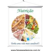 Nutrição banner 80x70cm