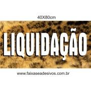 Adesivo Liquidação 40x80cm
