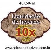 Adesivos 40x50cm - Liquidação de inverno 10x´ PAR