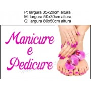 Adesivo Manicure e Pedicure (P-M-G)