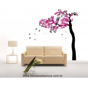 Árvore Primavera Adesivo Decorativo