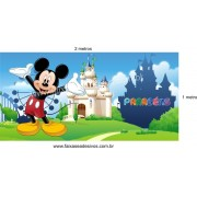 Mickey painel de aniversário